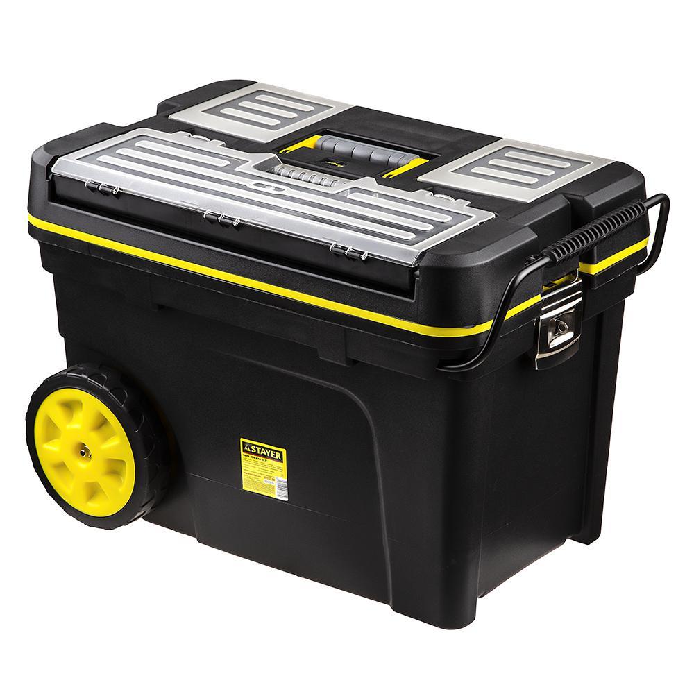 Ящик Stayer 38107-24 ящик stels 90706 для инструмента 590х300х300мм 24 пластик