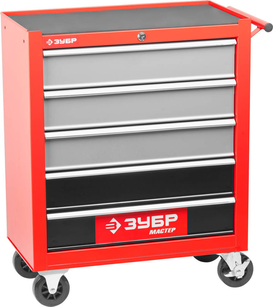 Тележка ЗУБР 38905-5 тележка инструментальная keter с 5 ящиками drawer 2 3 22 38380 5