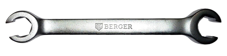 Ключ гаечный Berger Bg1112 (11 / 13 мм) ключ разрезной berger 11x13 мм bg1112