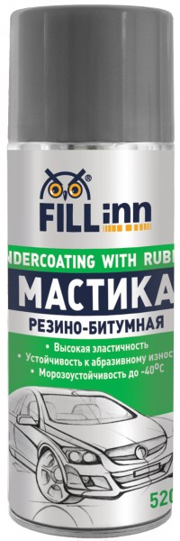 Мастика Fill inn Fl019 мастика битумная fill inn 520мл аэрозоль