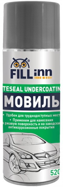 Мовиль Fill inn Fl020 мастика битумная fill inn 520мл аэрозоль