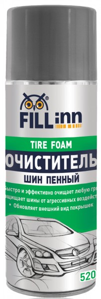 Очиститель Fill inn Fl063 антидождь fill inn 200мл