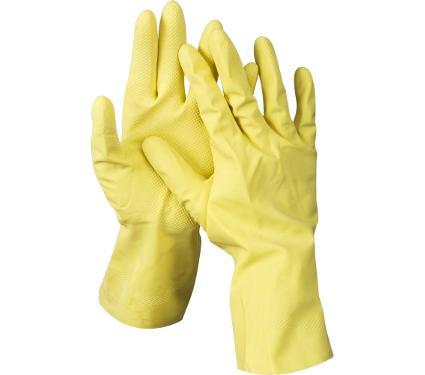 Латексные перчатки с х/б напылением DEXX 11201