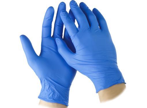 Перчатки нитриловые STAYER 11204 размер M (10 шт)