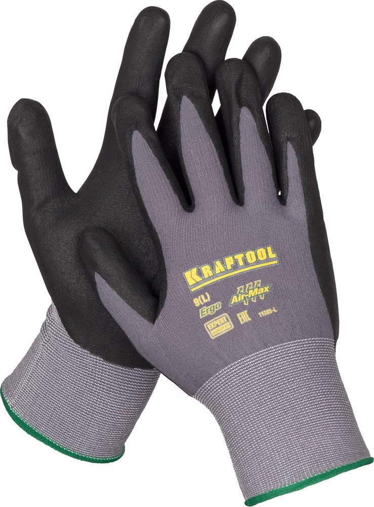 Перчатки Kraftool 11285 перчатки защитные roces protective gloves цвет черный размер l