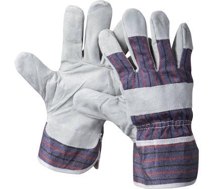 Комбинированные спилковые перчатки STAYER 1130-XL  master