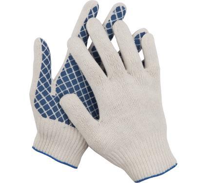 Трикотажные перчатки с ПВХ покрытием DEXX 114001