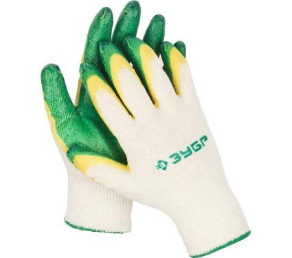 Перчатки защитные ЗУБР 11459-K10