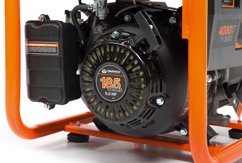 Бензиновый генератор Daewoo Gda 4800i