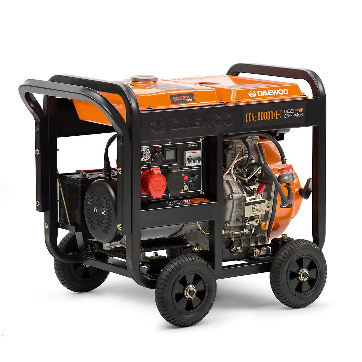 Дизельный генератор Daewoo Ddae900dxe-3