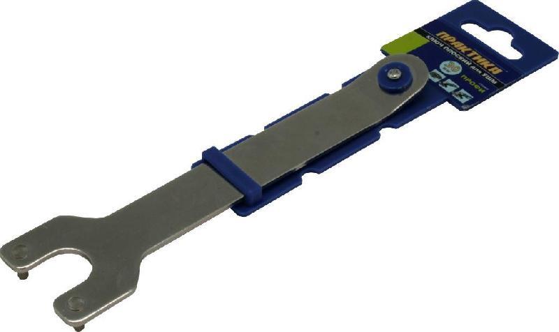 Ключ ПРАКТИКА 246-234 ключ для ушм практика 777 055 для ушм 35мм изогнутый