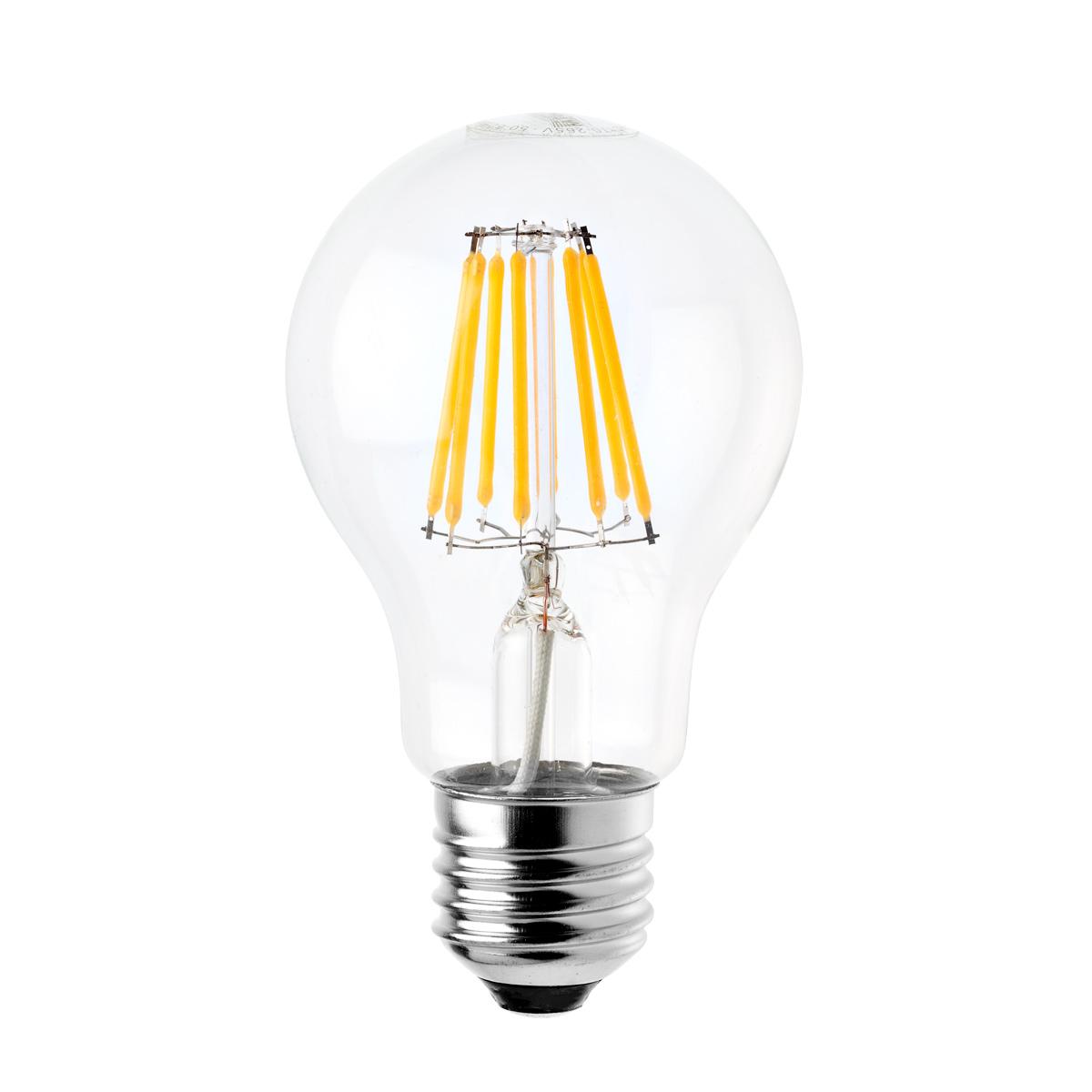 МАЯК - Лампа светодиодная МАЯК Led-a60f/8w/2700 (LBF-A60-E27/8W/2700-001)