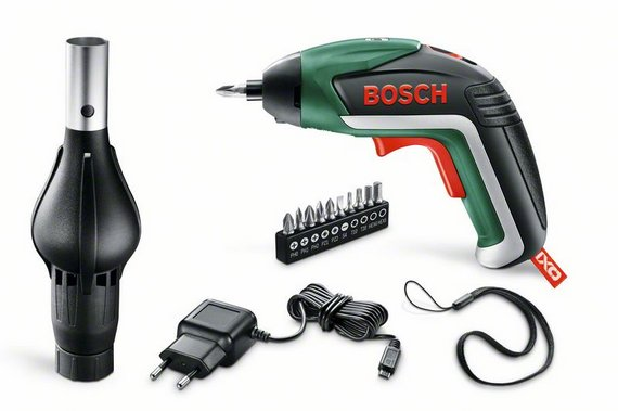 Отвертка аккумуляторная Bosch Ixo v bbq set (0.603.9a8.00g)