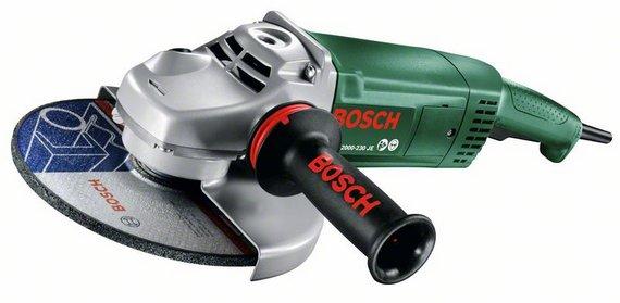 УШМ (болгарка) Bosch Pws 2000-230 je (0.603.3c6.001) шлифовальная машина bosch pws 2000 230 je 06033c6001