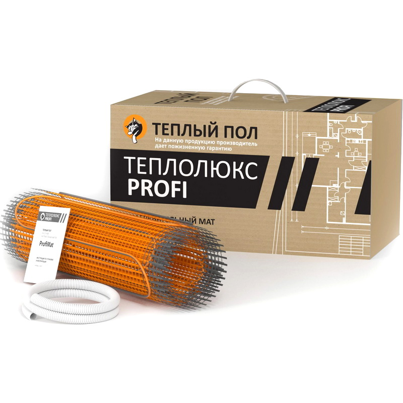 Теплый пол ТЕПЛОЛЮКС Profimat160-12.0 теплый пол теплолюкс mini мн 155 1 00