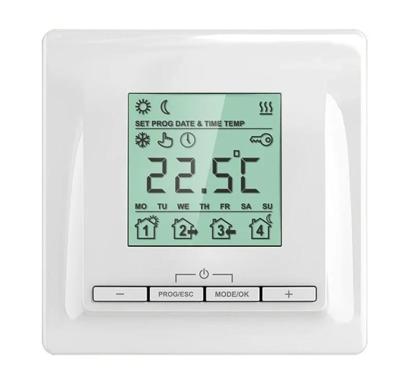 Терморегулятор ТЕПЛОЛЮКС ТР 520 терморегулятор для теплого пола теплолюкс тс 201 белый