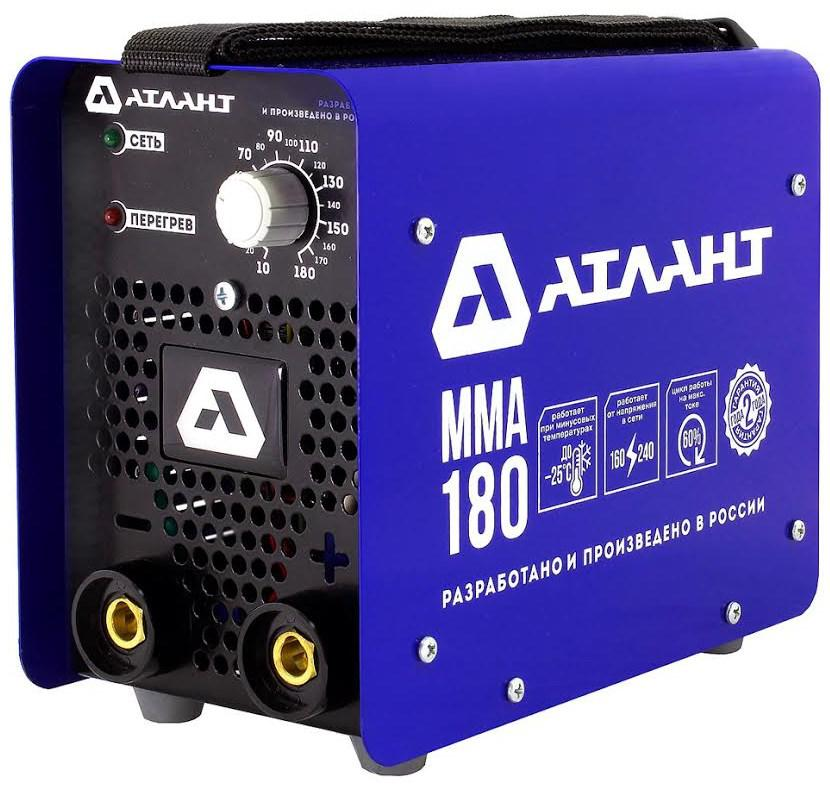 Сварочный аппарат АТЛАНТ ММА-180А сварочный трансформатор спец мма 180 ас s