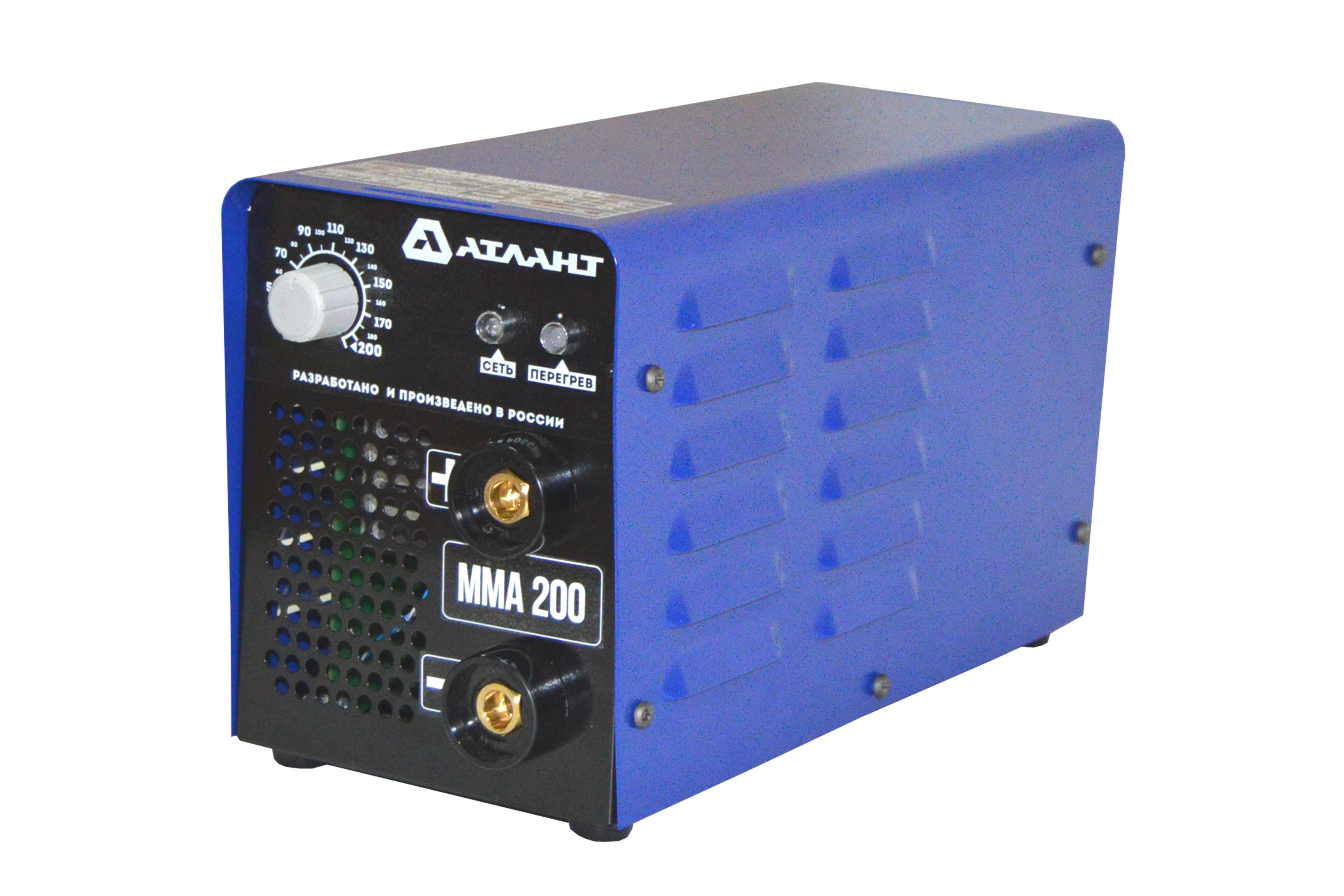 Сварочный аппарат АТЛАНТ ММА-200А сварочный трансформатор спец мма 180 ас s