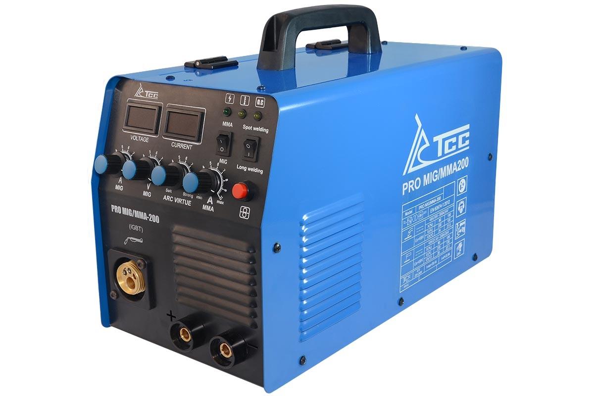 Сварочный аппарат ТСС Pro mig/mma-200 инверторный аппарат кедр mma 180 f 00000001111