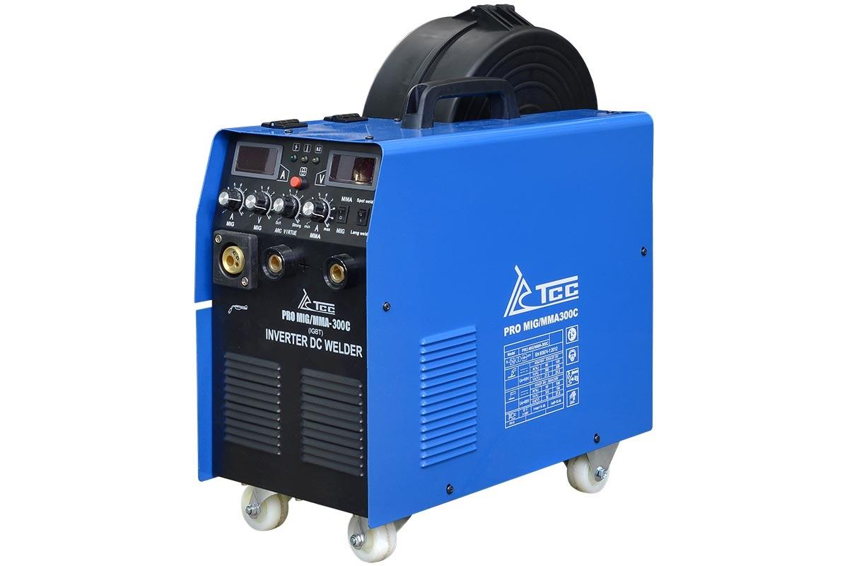 Сварочный аппарат ТСС Pro mig/mma-300С сварочный аппарат тсс pro mig mma 160