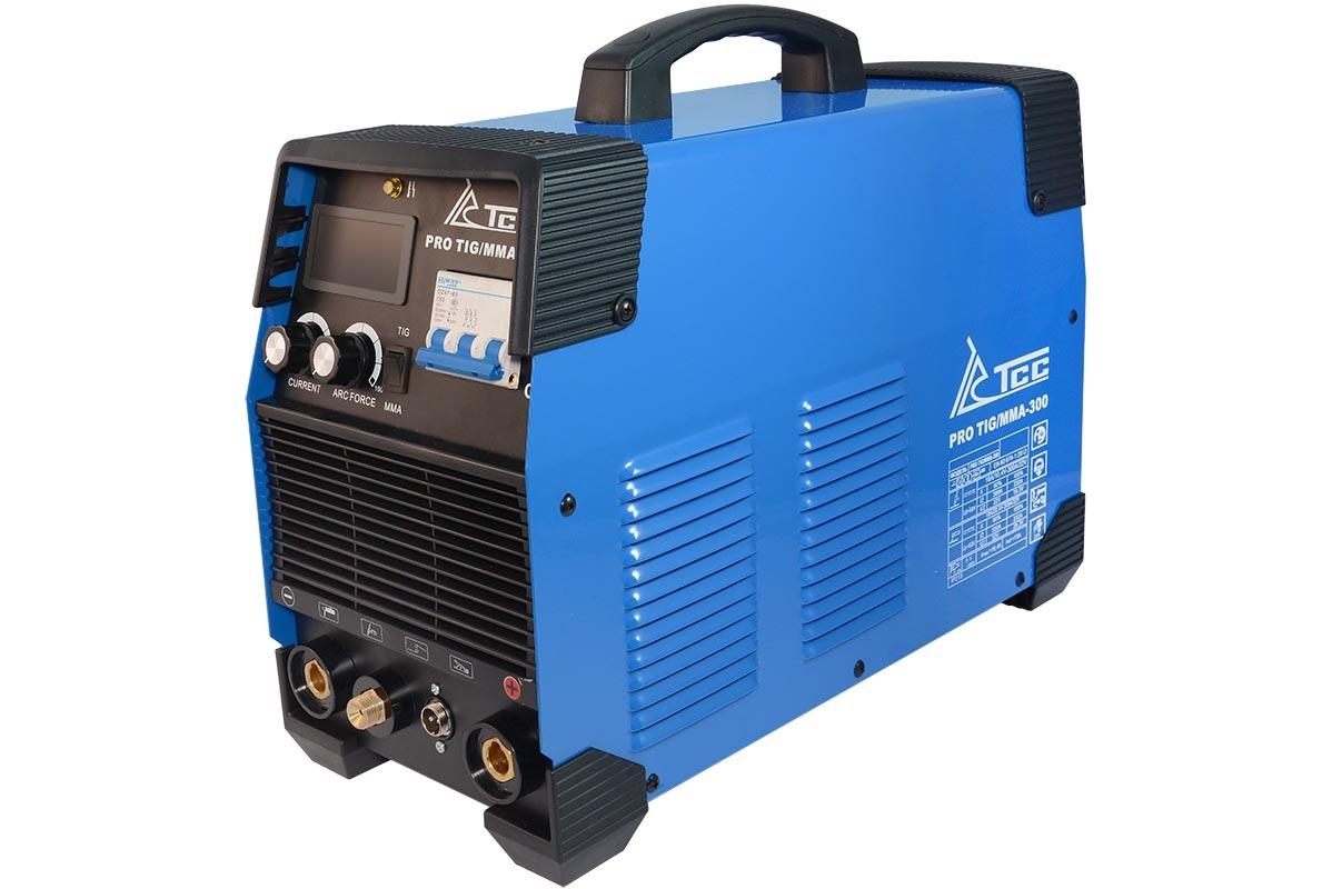 Сварочный аппарат ТСС Pro tig/mma-300 сварочный аппарат сварог pro tig 200 p dsp w212