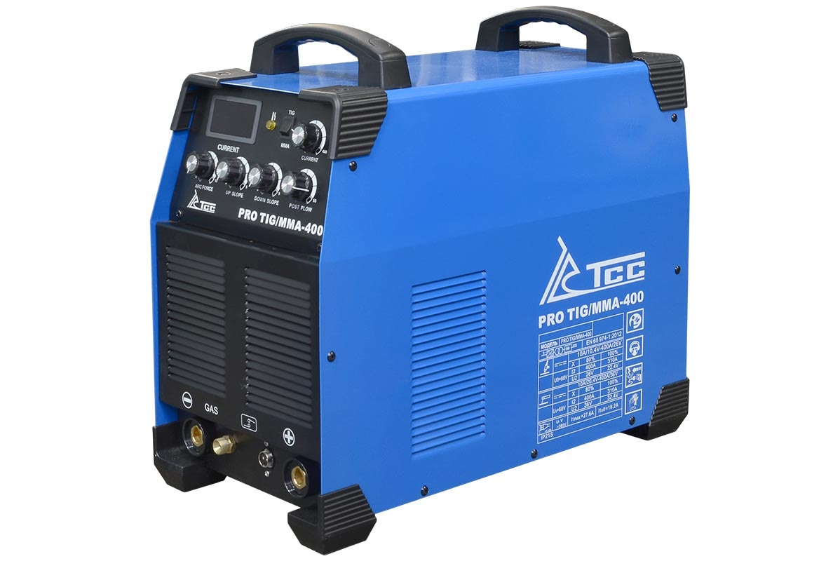 Сварочный аппарат ТСС Pro tig/mma-400 аппарат аргонодуговой сварки aurora pro inter tig 250 tig mma