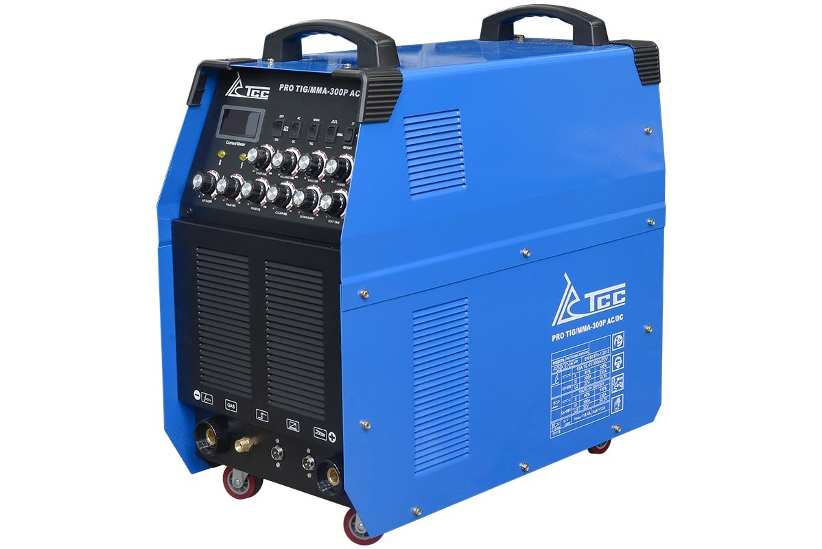 Сварочный аппарат ТСС Pro tig/mma-300p ac/dc аппарат аргонодуговой сварки aurora pro inter tig 250 tig mma