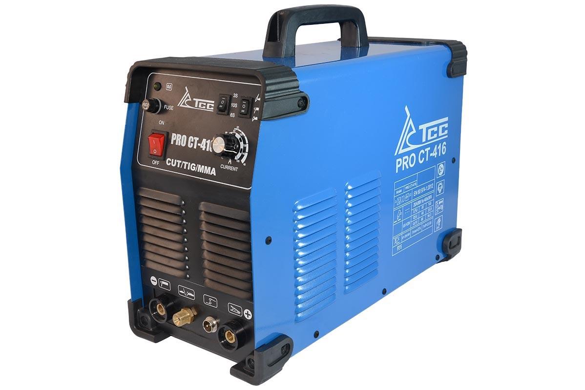 Сварочный аппарат ТСС Pro cut/tig/mma-ct 416 аппарат аргонодуговой сварки aurora pro inter tig 250 tig mma