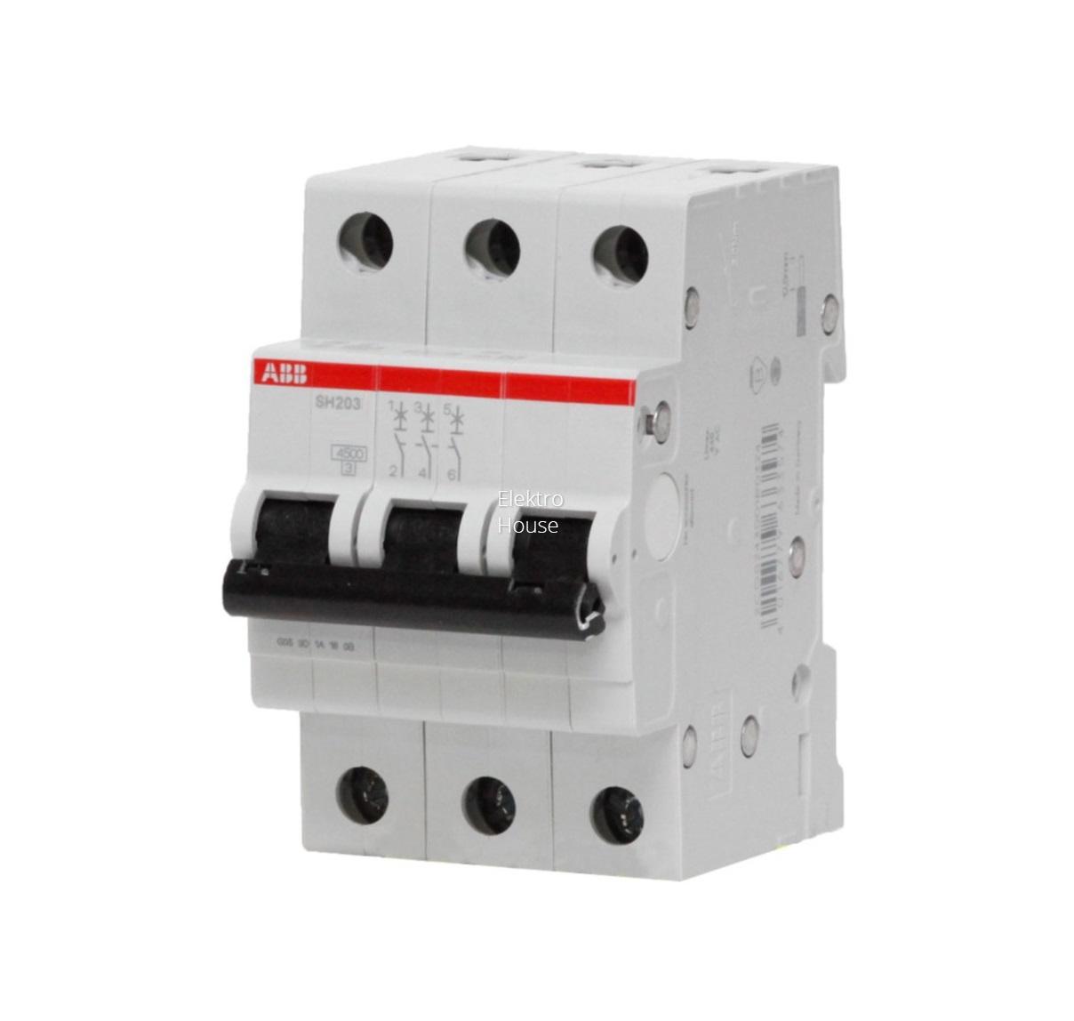 Выключатель Abb 2cds213001r0254 контактор abb 1sbl387001r1300
