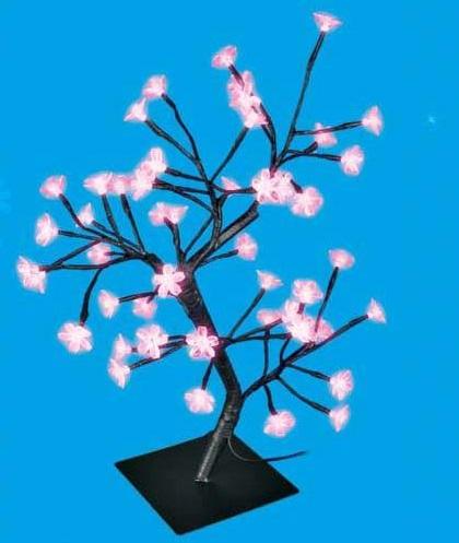 Дерево светодиодное Uniel Uld-t3545-048/sba pink ip20 светодиодная гирлянда сакура розовая 700см 07933 uniel uld s0700 050 dta pink ip20 pink sakura