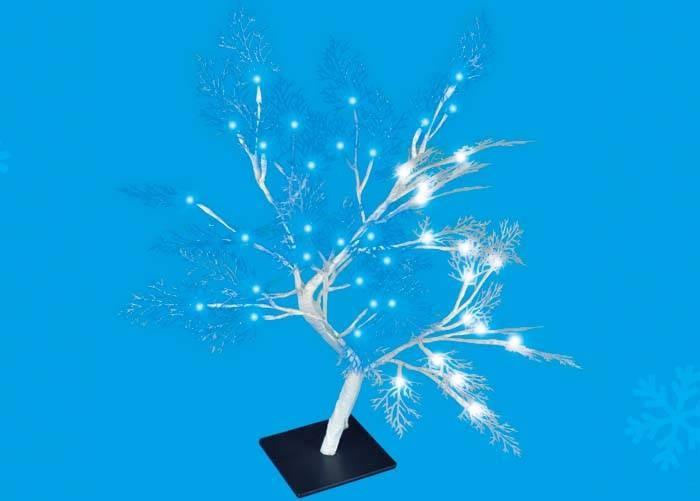 Дерево светодиодное Uniel Uld-t3550-054/swa white-blue ip20 подсветка для растений uniel ult p30 15w spfs ip40 white