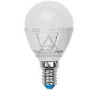 Лампа светодиодная UNIEL LED-G45-6W/WW/E14/FR/DIM PLP01WH