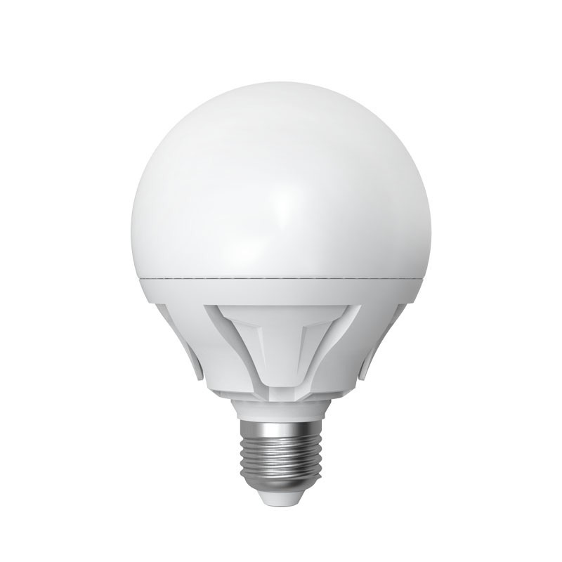 Лампа светодиодная Uniel Led-g95-16w/ww/e27/fr plp02wh uniel лампа светодиодная 08137 e14 6w 3000k свеча на ветру матовая led cw37 6w ww e14 fr alm01wh