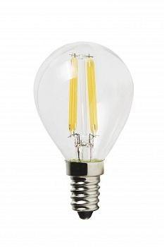 Лампа светодиодная Uniel Led-g45-6w/nw/e14/cl pls02wh