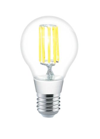 Лампа светодиодная Uniel Led-a60-8w/nw/e27/cl pls02wh