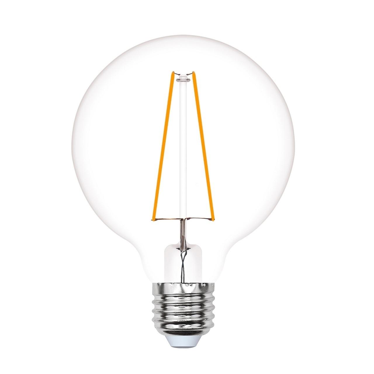 Лампа светодиодная Uniel Led-g80-4w/golden/e27 glv21go