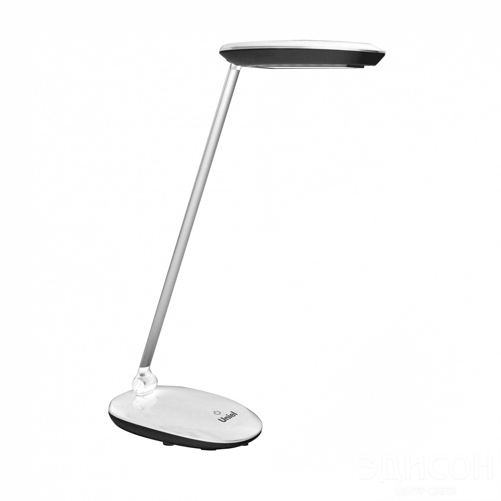 Лампа настольная Uniel Tld-531 black-white настольный led светильник uniel tld 531 4w 4500k белый