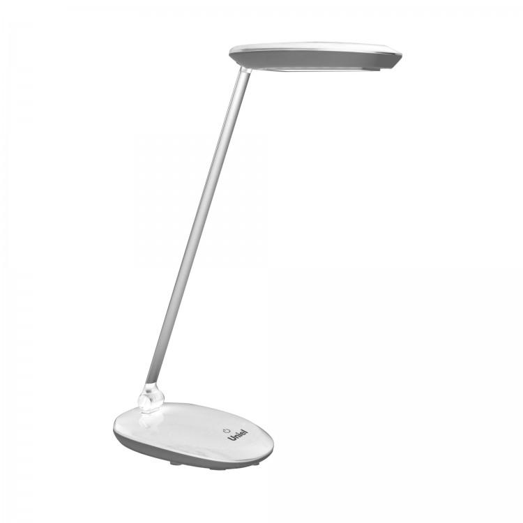 Лампа настольная Uniel Tld-531 grey-white настольный led светильник uniel tld 531 4w 4500k белый