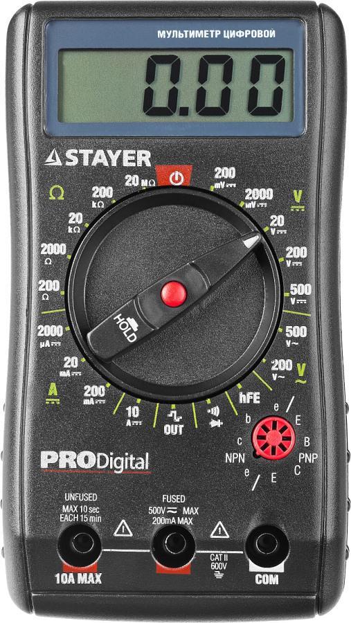 Мультиметр Stayer 45310