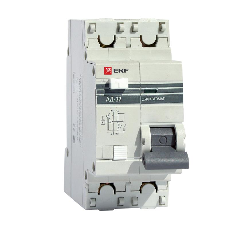 Выключатель Ekf Da32-10-30-pro выключатель ekf da63m 10 30