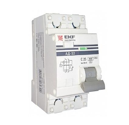 Диф. автомат Ekf Da32-40-30-pro выключатель ekf da32 16 10 pro