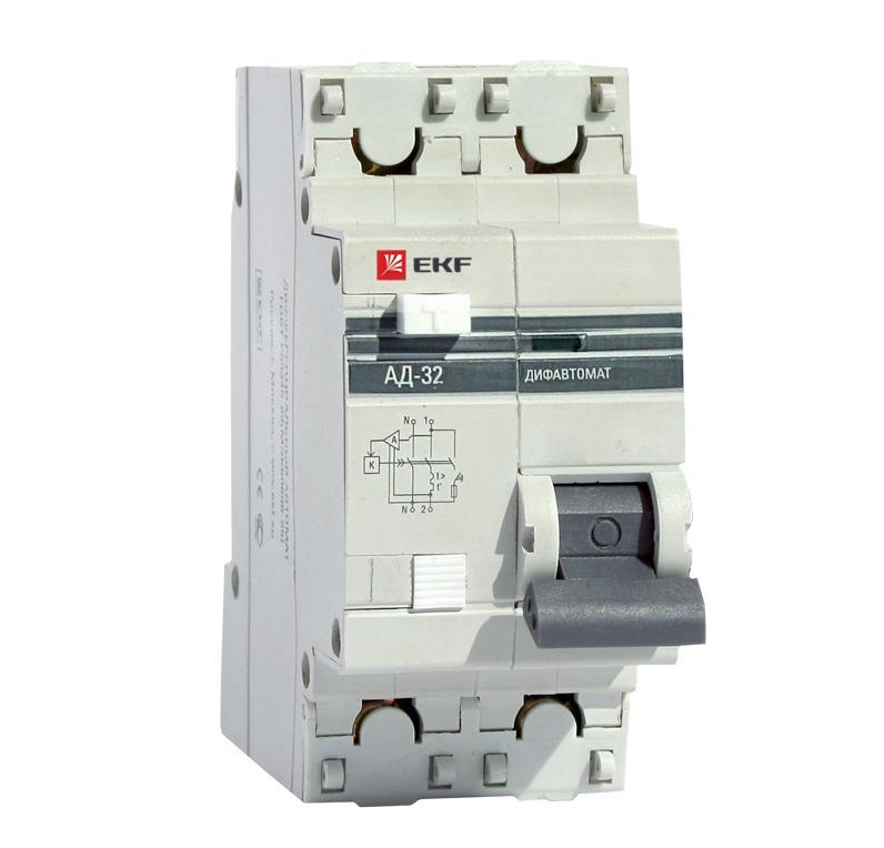Выключатель Ekf Da32-16-10-pro выключатель ekf da32 32 30 pro