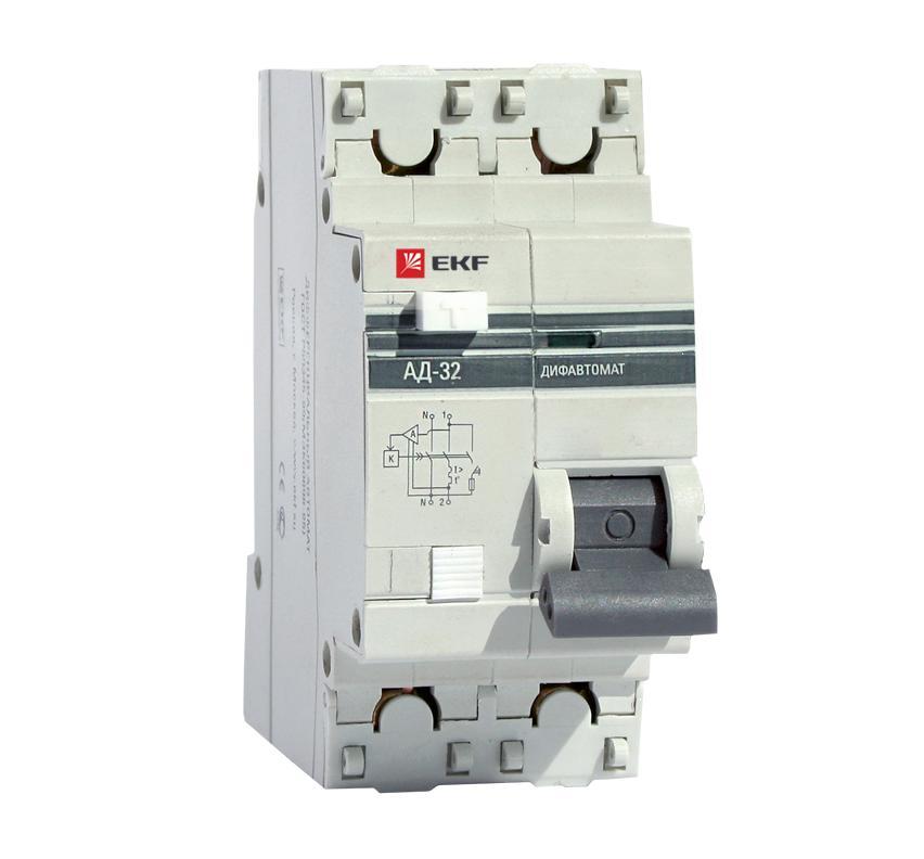 лучшая цена Диф. автомат Ekf Da32-25-100-pro