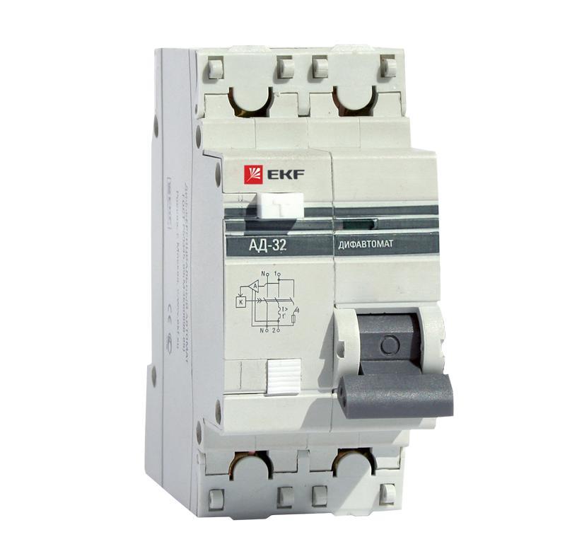 Выключатель Ekf Da32-25-10-pro выключатель ekf da32 32 30 pro