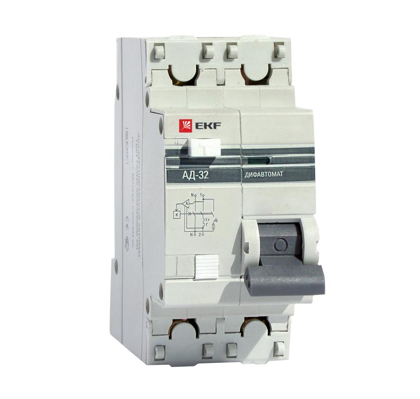 лучшая цена Диф. автомат Ekf Da32-40-100-pro