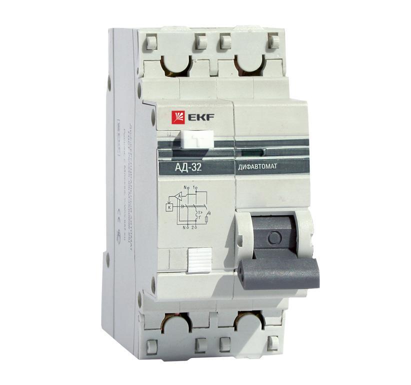 Диф. автомат Ekf Da32-40-300-pro выключатель ekf da32 16 10 pro