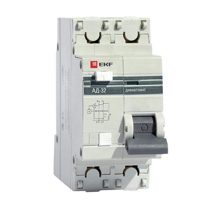лучшая цена Диф. автомат Ekf Da32-50-100-pro