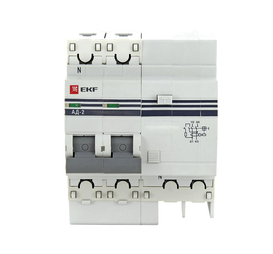лучшая цена Диф. автомат Ekf Da2-40-100-pro