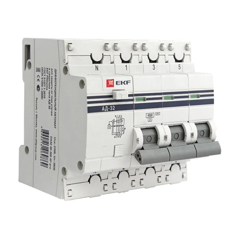 Выключатель Ekf Da32-25-30-4p-pro