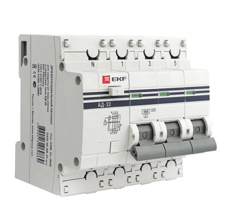 Выключатель Ekf Da32-63-30-4p-pro выключатель ekf da32 32 30 pro